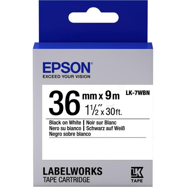 Original Epson C53S657006 / LK7WBN DirectLabel-Etiketten