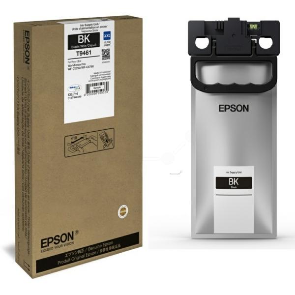 Original Epson C13T946140 / T9461 Tintenpatrone schwarz