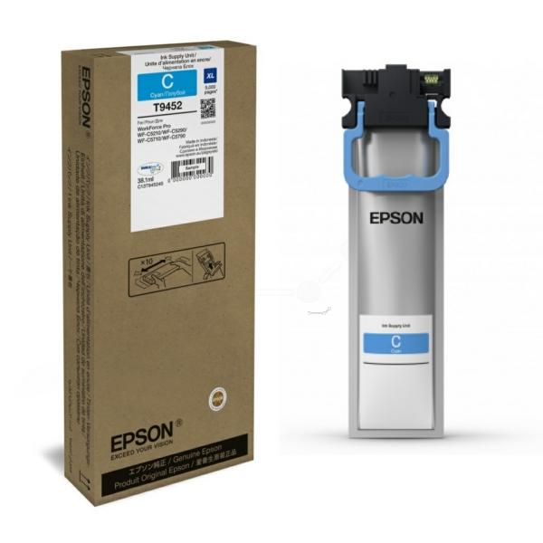 Original Epson C13T945240 / T9452 Tintenpatrone cyan