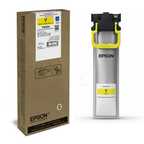 Original Epson C13T945440 / T9454 Tintenpatrone gelb