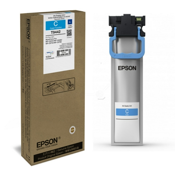 Original Epson C13T944240 / T9442 Tintenpatrone cyan