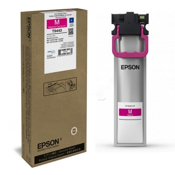 Original Epson C13T944340 / T9443 Tintenpatrone magenta