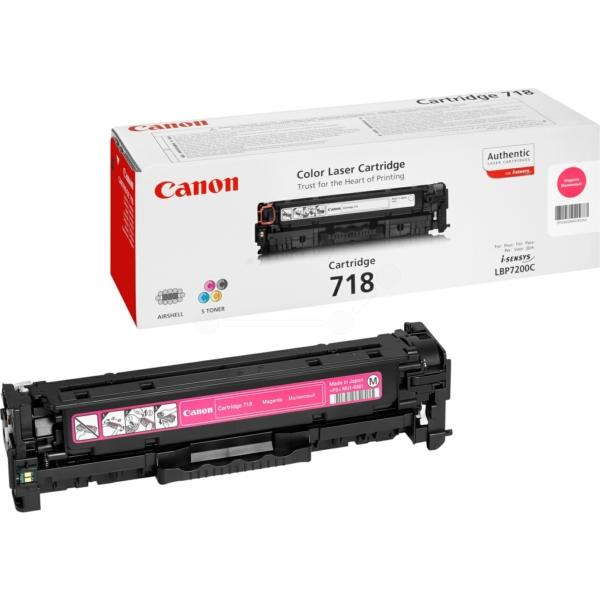 Original Canon 2660B014 / 718M Toner magenta