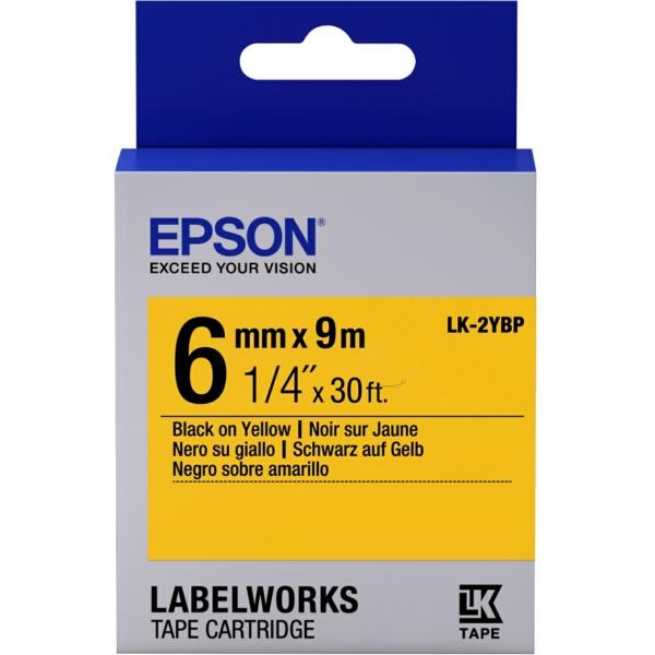 Original Epson C53S652002 / LK2YBP DirectLabel-Etiketten