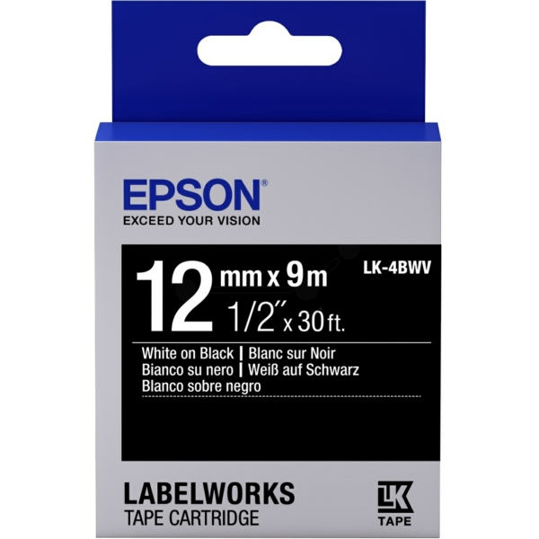 Original Epson C53S654009 / LK4BWV DirectLabel-Etiketten