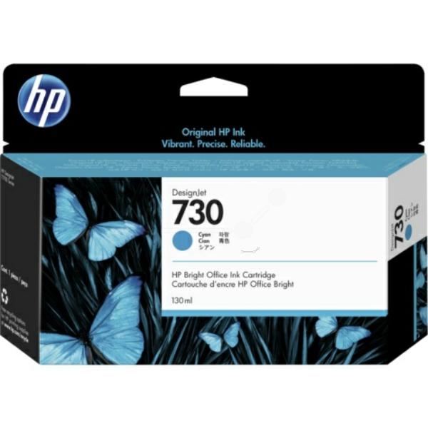 Original HP P2V62A / 730 Tintenpatrone cyan