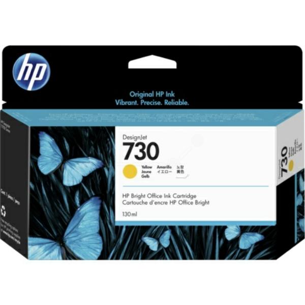 Original HP P2V64A / 730 Tintenpatrone gelb