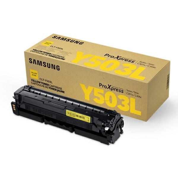 Original HP SU491A / CLTY503L Toner gelb