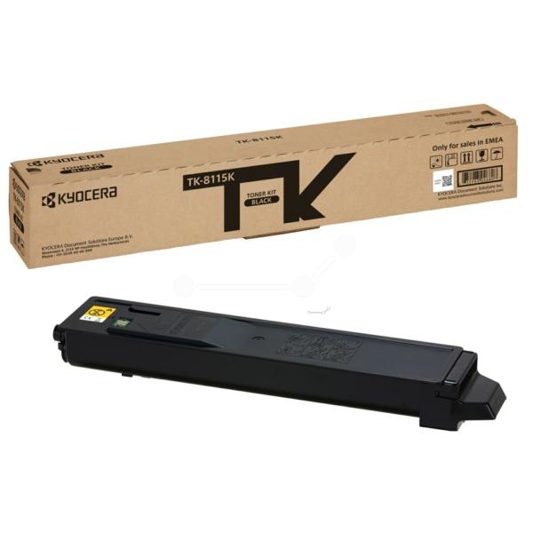 Original Kyocera 1T02P30NL0 / TK8115K Toner noir