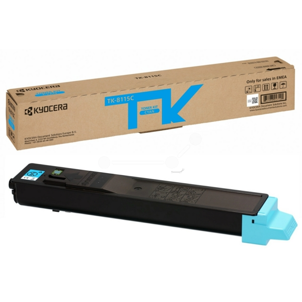 Original Kyocera 1T02P3CNL0 / TK8115C Toner cyan