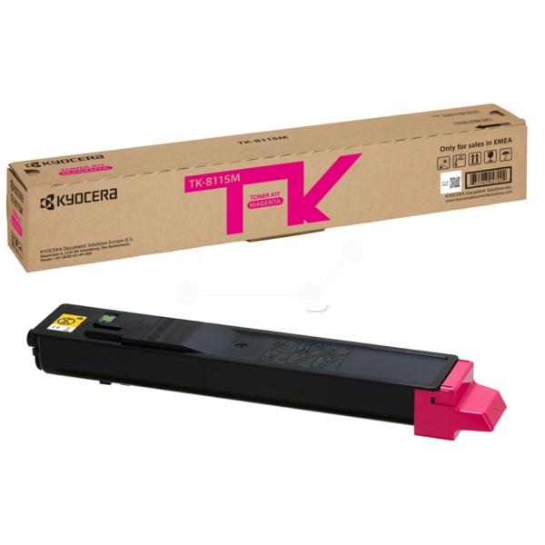 Original Kyocera 1T02P3BNL0 / TK8115M Toner magenta