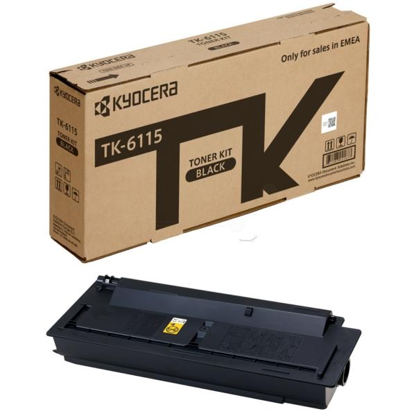 Original Kyocera 1T02P10NL0 / TK6115 Toner schwarz