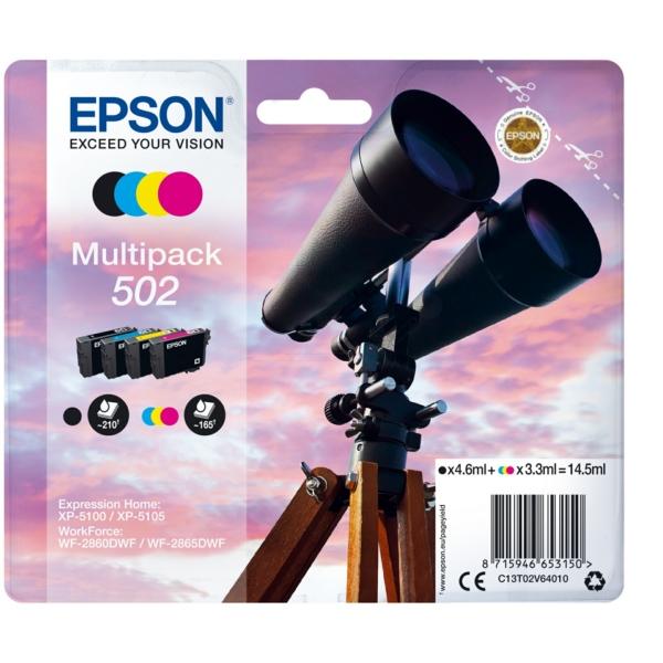 Original Epson C13T02V64010 / 502 Tintenpatrone MultiPack