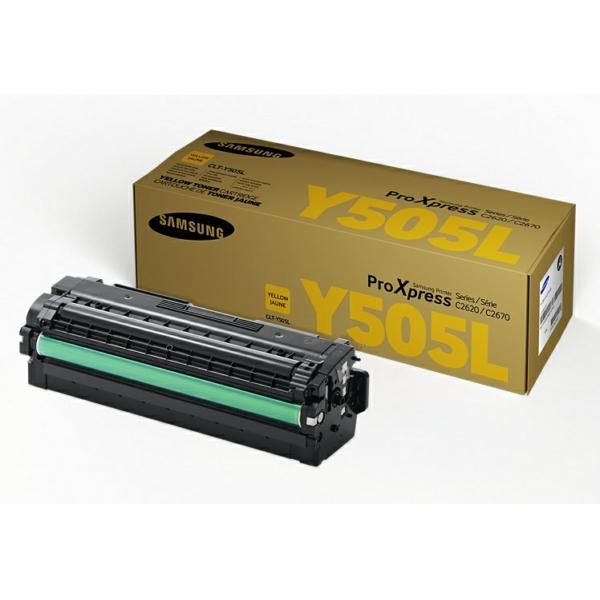 Original HP SU512A / CLTY505L Toner gelb
