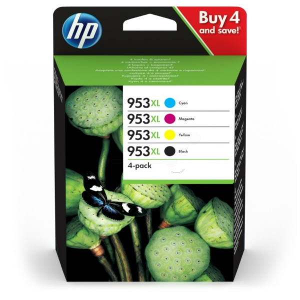 Original HP 3HZ52AE / 953XL Tintenpatrone MultiPack