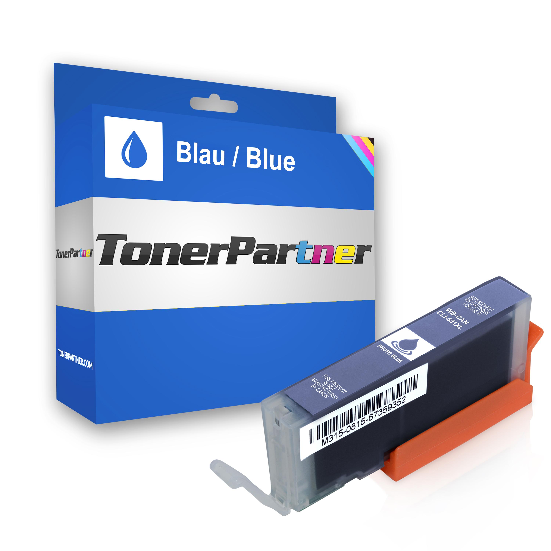 Canon 1999C001 / CLI-581PBXXL Tintenpatrone blau Kompatibel