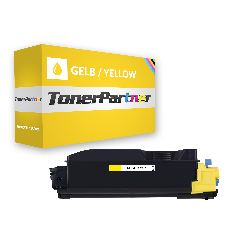 Kompatibel zu Kyocera 1T02TVANL0 / TK-5270Y Tonerkartusche gelb