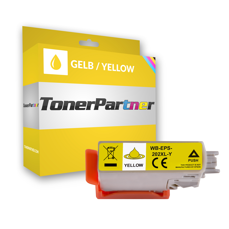 Epson C13T02H44010 / 202XL Tintenpatrone gelb Kompatibel