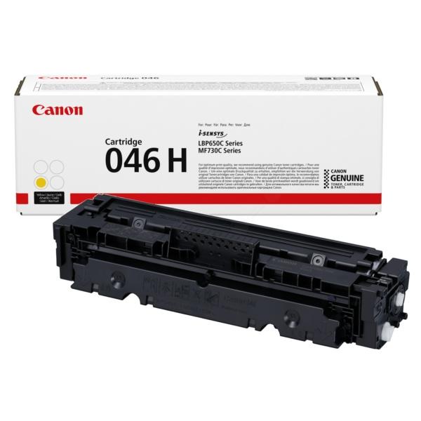 Originale Canon 1251C004 / 046H Toner giallo