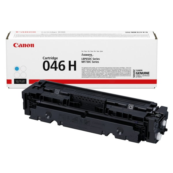 Original Canon 1253C004 / 046H Toner cyan