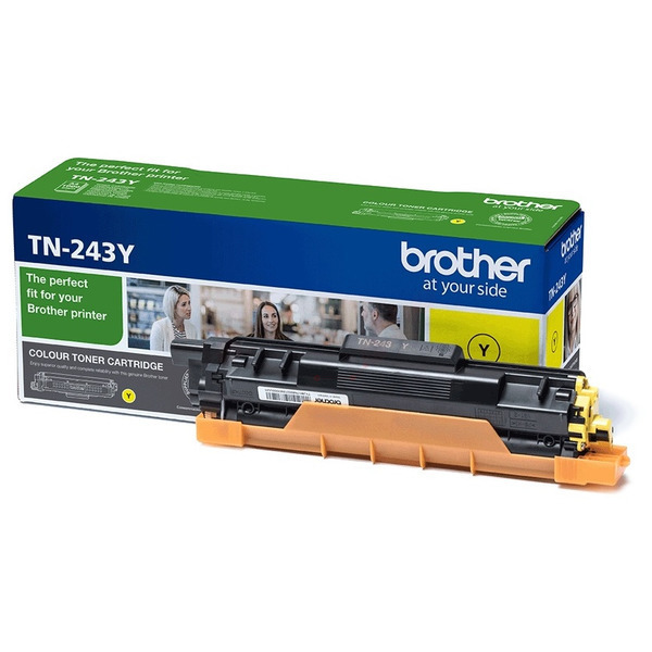 Original Brother TN243Y Toner jaune