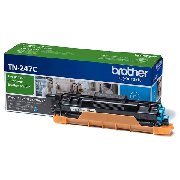 Original Brother TN247C Toner cyan