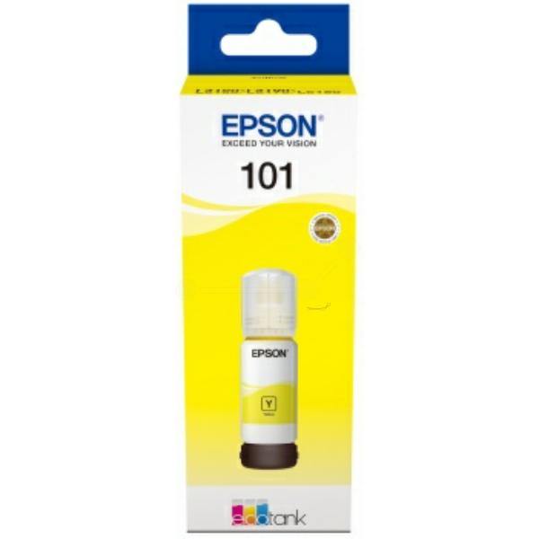 Original Epson C13T03V44A / 101 Tintenpatrone gelb