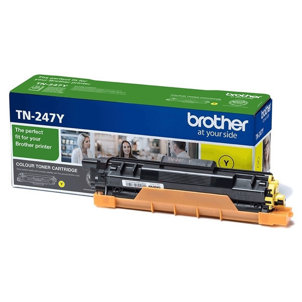 Original Brother TN247Y Toner jaune