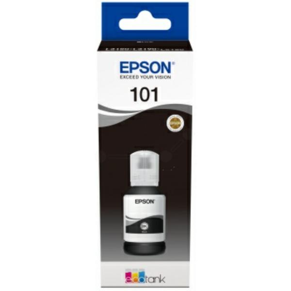 Original Epson C13T03V14A / 101 Tintenpatrone schwarz