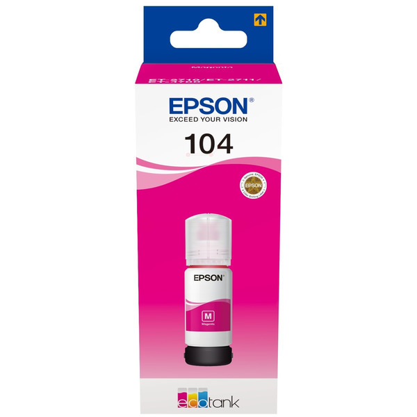 Original Epson C13T00P340 / 104 Tintenpatrone magenta
