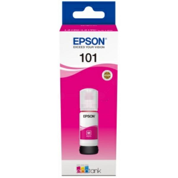 Original Epson C13T03V34A / 101 Tintenpatrone magenta