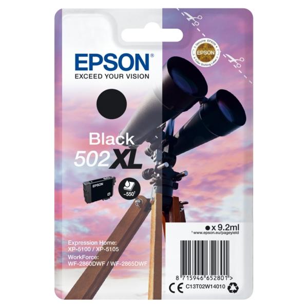 Original Epson C13T02W14020 / 502XL Tintenpatrone schwarz