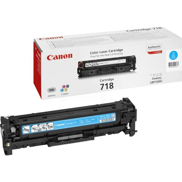 Originale Canon 2661B014 / 718C Toner ciano