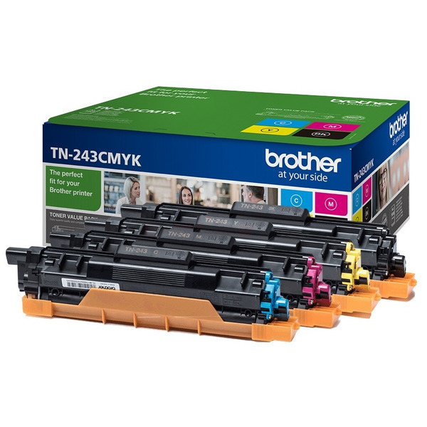 Original Brother TN243CMYK Toner MultiPack