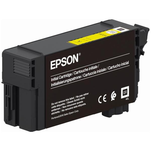 Original Epson C13T40D440 / T40 Tintenpatrone gelb