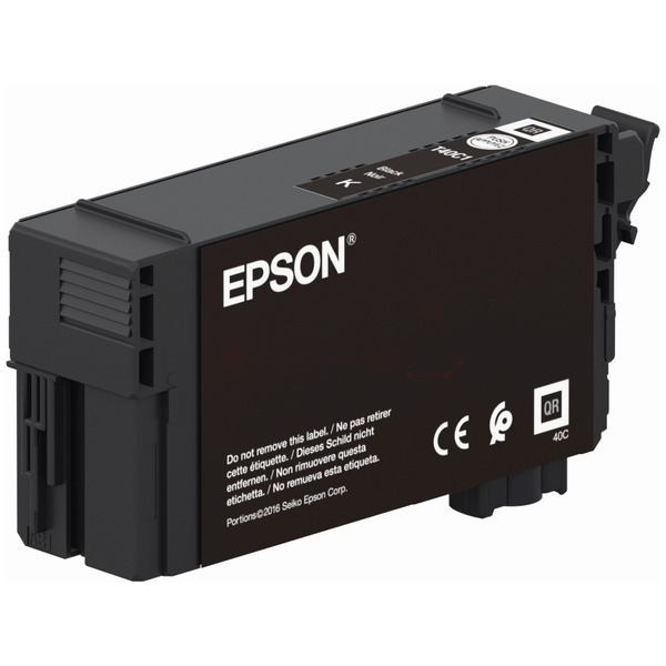 Original Epson C13T40C140 / T40 Tintenpatrone schwarz