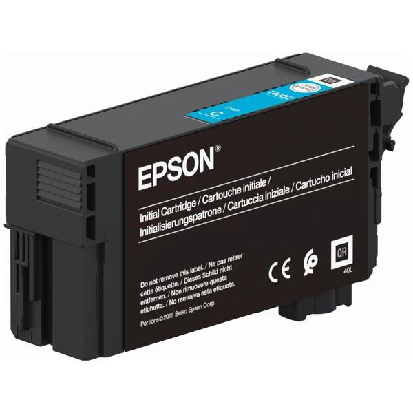 Original Epson C13T40C240 / T40 Tintenpatrone cyan
