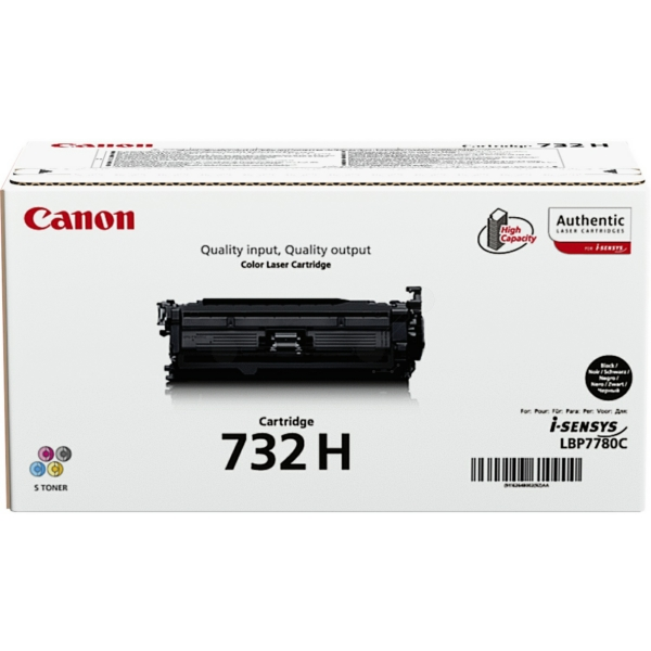 Original Canon 6264B011 / 732H Toner schwarz