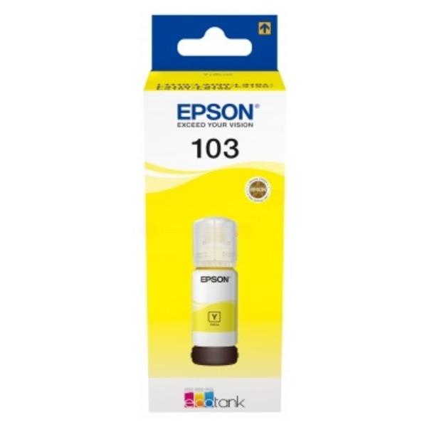 Original Epson C13T00S44A / 103 Tintenpatrone gelb