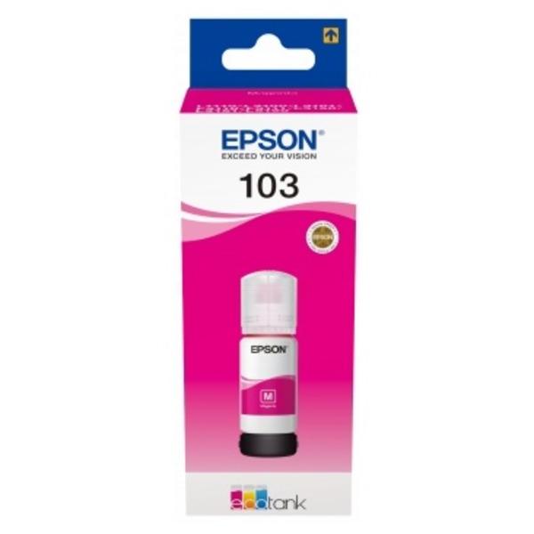 Original Epson C13T00S34A / 103 Tintenpatrone magenta