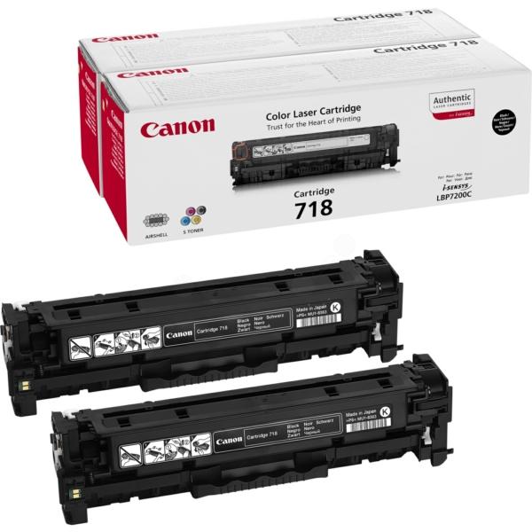 Originale Canon 2662B017 / 718BKVP Toner nero