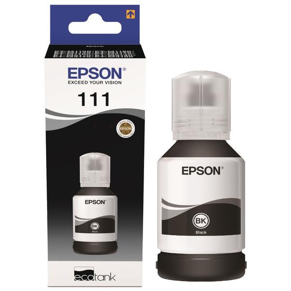 Original Epson C13T03M140 / 111 Tintenpatrone schwarz
