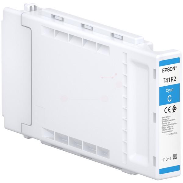 Original Epson C13T41R240 / T41R2 Tintenpatrone cyan