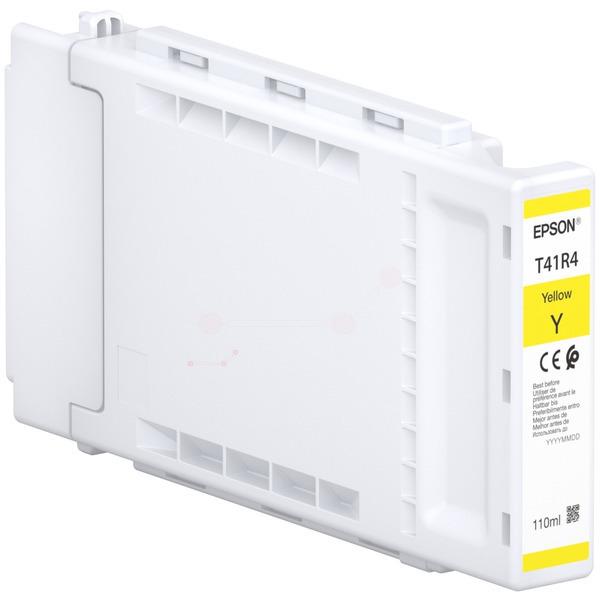 Original Epson C13T41R440 / T41R4 Tintenpatrone gelb
