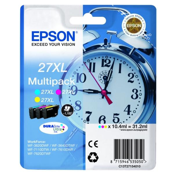 Original Epson C13T27154510 / 27XL Tintenpatrone MultiPack