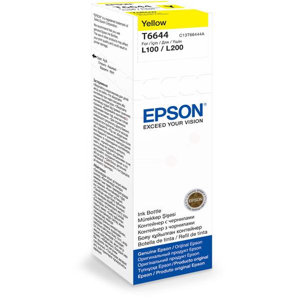 Originale Epson C13T66444A / T6644 Cartuccia di inchiostro giallo