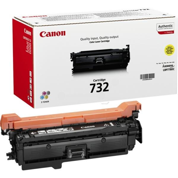 Original Canon 6260B011 / 732Y Toner gelb