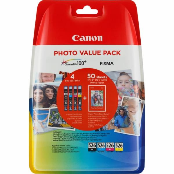 Original Canon 4540B018 / CLI526 Tintenpatrone MultiPack