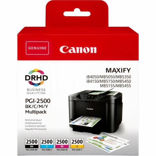 Original Canon 9290B005 / PGI2500BKCMY Tintenpatrone MultiPack