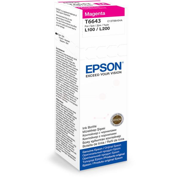 Originale Epson C13T66434A / T6643 Cartuccia di inchiostro magenta